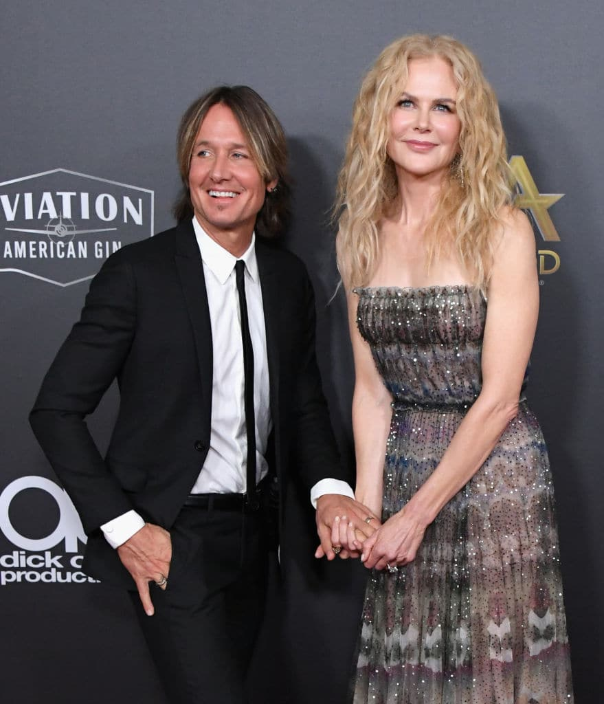 The actress says she and husband Keith Urban find water extremely therapeutic, which is why they have a beach house (Getty Images)