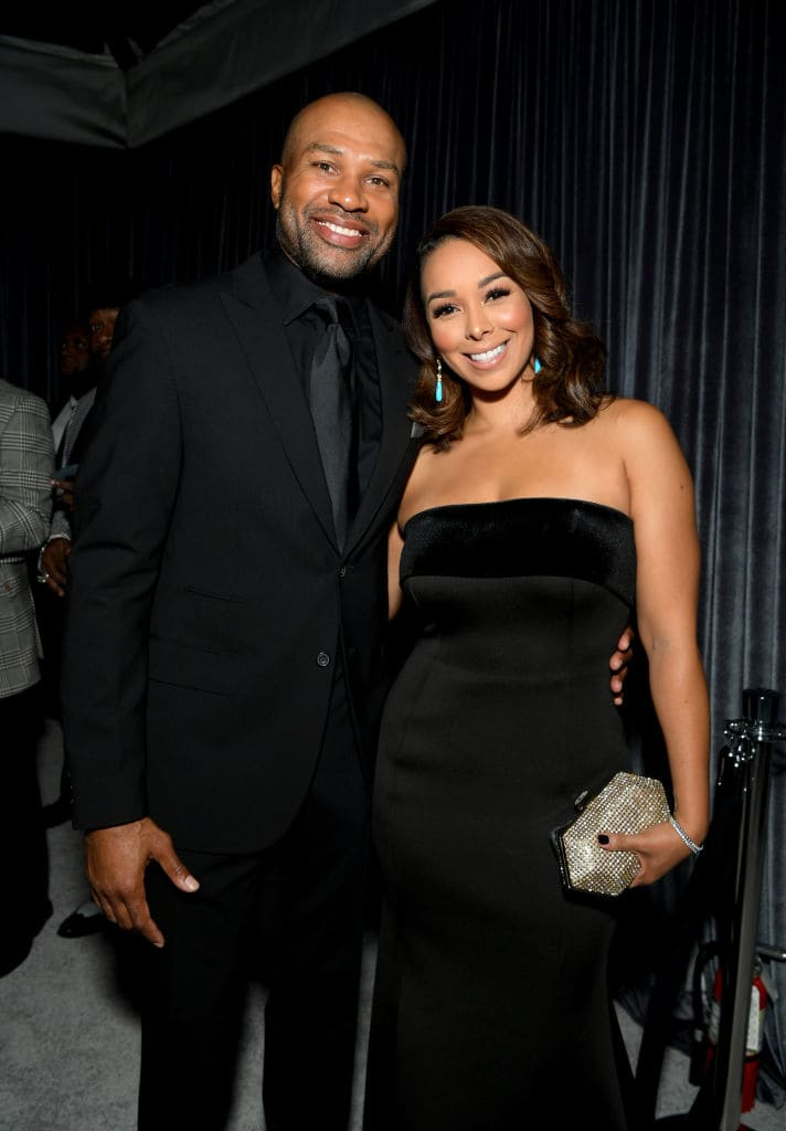Derek Fisher (L) and Gloria Govan attend the City of Hope Spirit of Life Gala 2018 at Barker Hangar on October 11, 2018 in Santa Monica, California. (Photo by Emma McIntyre/Getty Images for City of Hope)