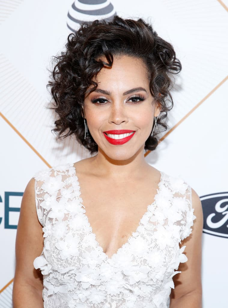 Amirah Vann attends the 2018 Essence Black Women In Hollywood Oscars Luncheon at Regent Beverly Wilshire Hotel on March 1, 2018 in Beverly Hills, California. (Getty Images)