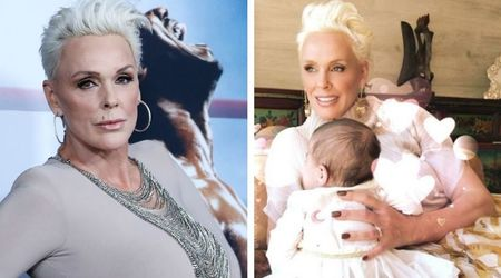 Actress Brigitte Nielsen gushes how 'life is amazing' after welcoming her 'miracle daughter' at 54