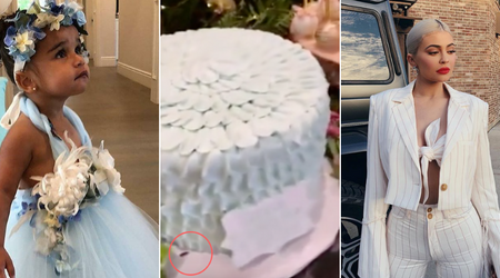 Kylie Jenner's video of niece Dream's birthday bash shows cockroach scurrying under a cake