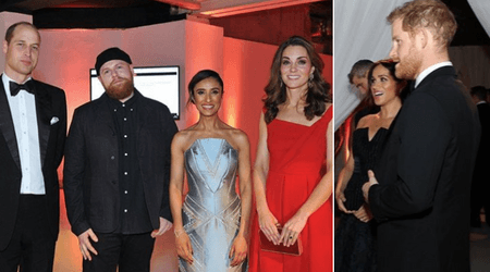 Meghan Markle and Prince Harry enjoy a night out with Prince William and Kate Middleton at a private dinner event