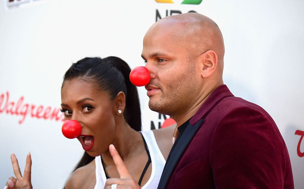 Mel B and Stephen Belafonte in happier times (Getty Images)