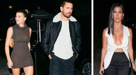 Kourtney Kardashian wears revealing top for night out with ex Scott Disick and his girlfriend Sofia Richie