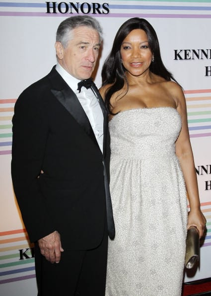 Robert De Nirowith and Grace Hightower in Washington DC in 2011 (Photo by Michael Tran/Getty Images)