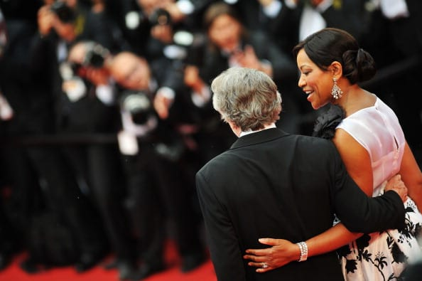 Robert De Nirowith and Grace Hightower at Cannes in 2011 (Getty Images)