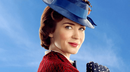 'Mary Poppins Returns' and so does the bright and sunny Emily Blunt we have been missing since 'The Girl on the Train'