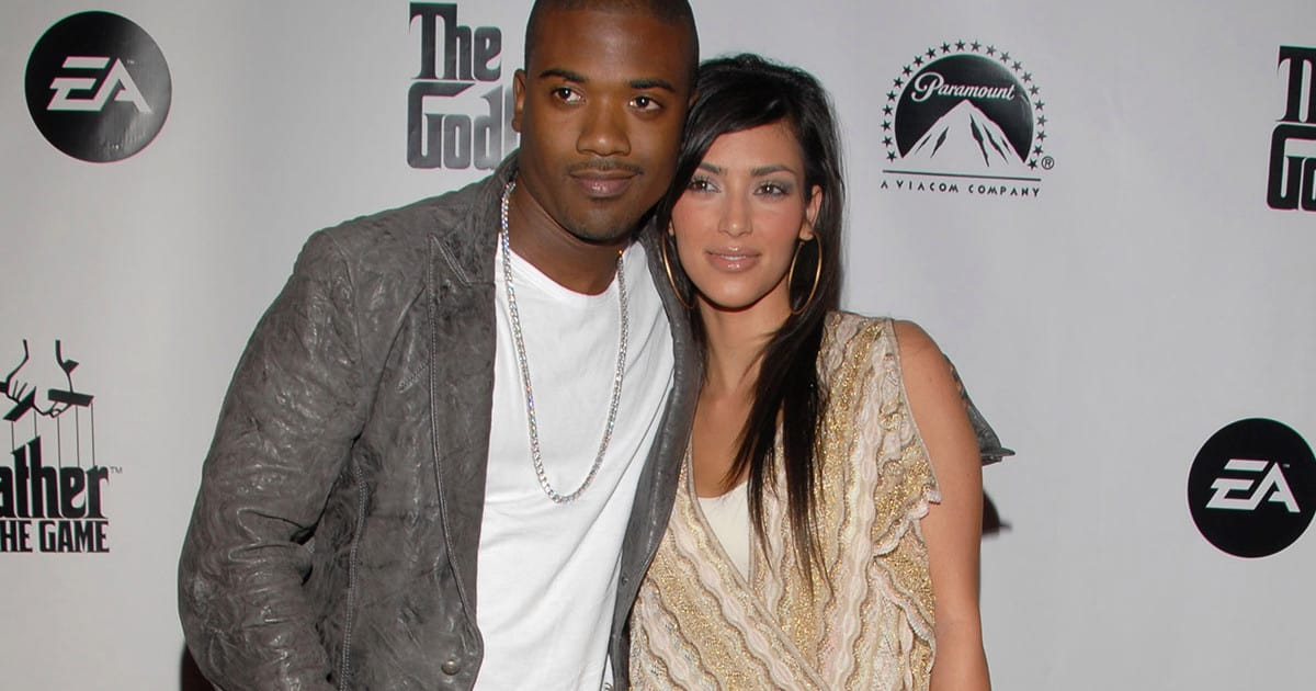 Ray J and Kim Kardashian (Photo by Mark Sullivan/Getty Images)