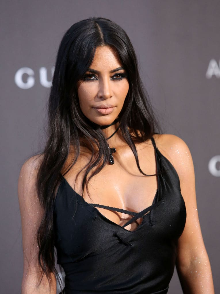 Kim Kardashian, who has previously said she didn't touch drugs or drink, made the surprise admission on 'Keeping Up With the Kardashians' (Getty Images)