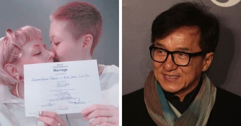 Jackie Chan's estranged 19-year-old daughter Etta Ng marries 31-year-