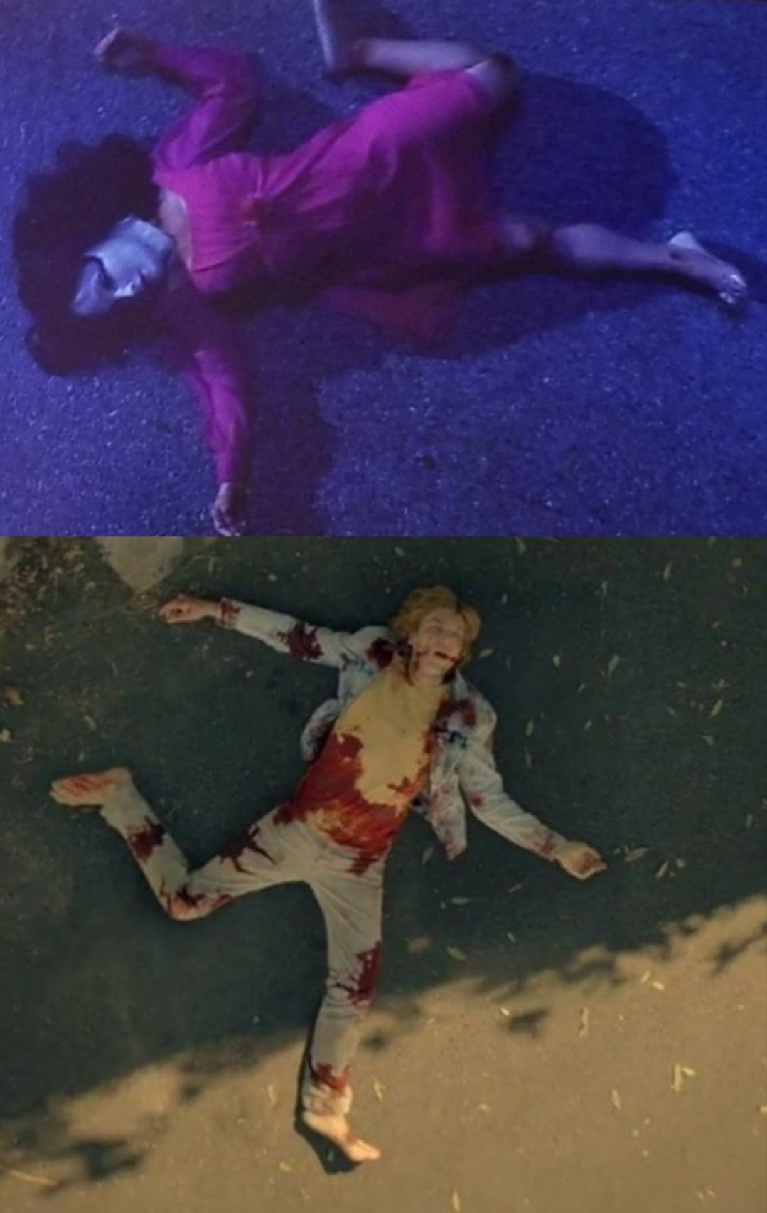 Fans on Reddit spotted a similarity in the manner in which Adelaide and Langdon died.