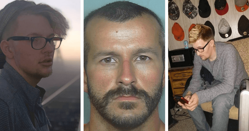 Chris Watts' gay male lover says that the triple murderer