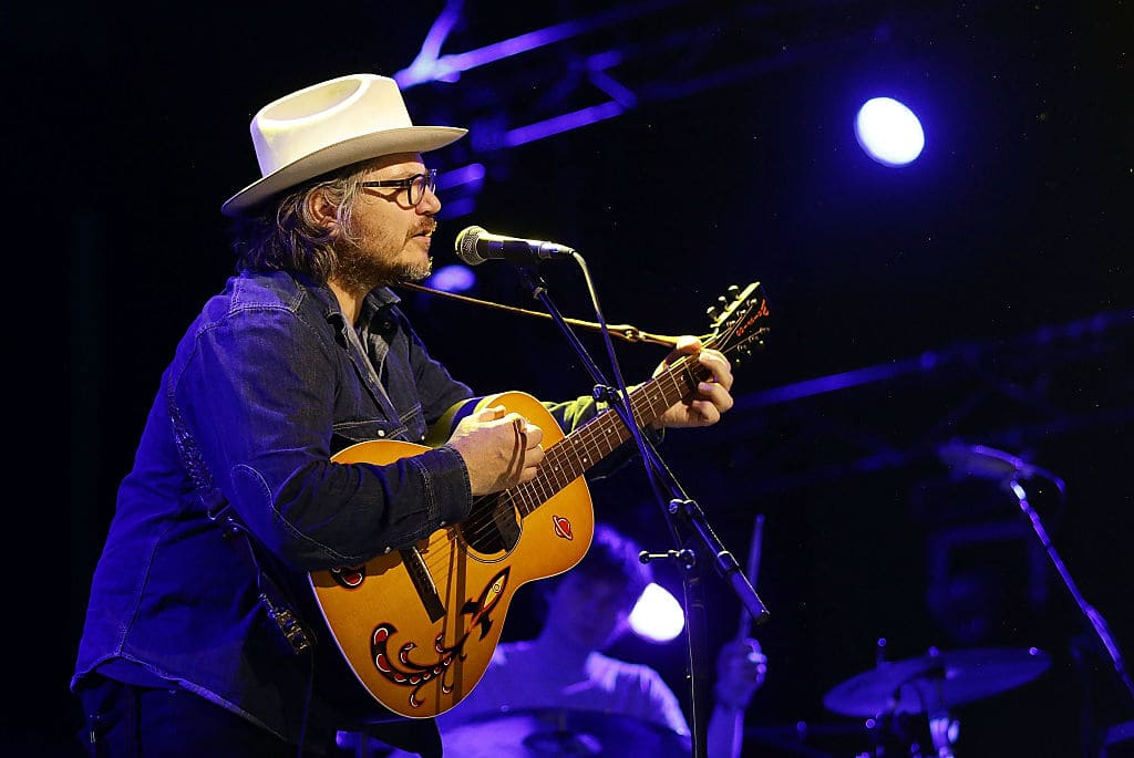 Jeff Tweedy of Tweedy performs live for fans at the 2016 Byron Bay Bluesfest on March 24, 2016, in Byron Bay, Australia. (Getty Images)