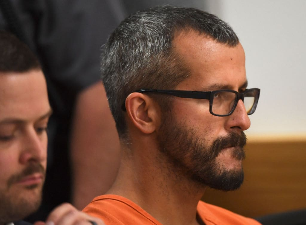 Chris Watts was sentencedto three consecutive life sentences (Getty Images)