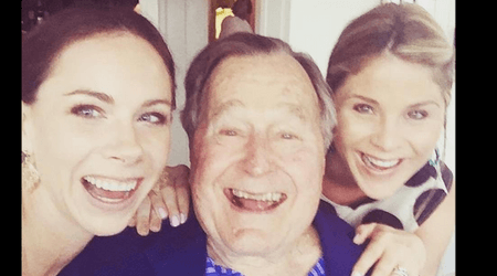 Jenna Bush misses her grandfather George HW Bush but is very happy he will be reunited with his wife Barbara