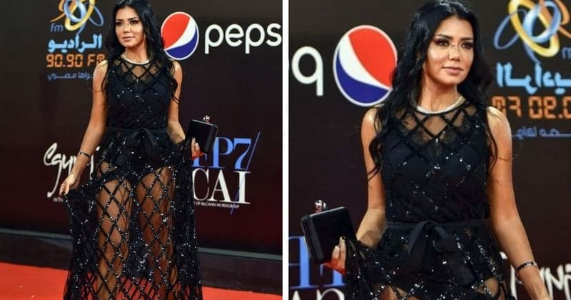 Egyptian actress Rania Youssef charged with public obscenity, faces up to 5 years in jail for wearing a see-through dress at film festival