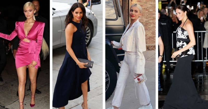 Duchess of style: Kylie Jenner has more influence than Meghan Markle when it comes to fashion and setting trends