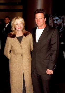 Meg Ryan and Dennis Quaid in 1998 (Getty Images)