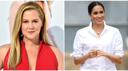 Amy Schumer says 'nemesis' Meghan Markle looks better than her and wears high heels during pregnancy
