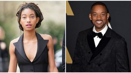 "Willow Smith has forgiven father Will Smith for being ""harsh"" to her following her 'Whip My Hair' fame"