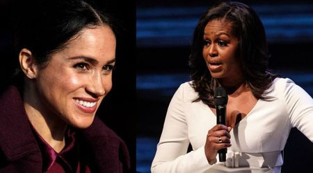 Michelle Obama and Meghan Markle hold a secret 'power meeting' in London to discuss shared causes