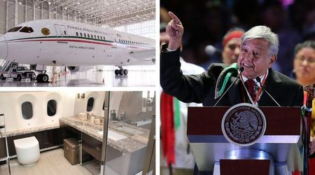 Mexico's new leader to sell $368m presidential jet and fly commercial instead to help his country's poorer communities
