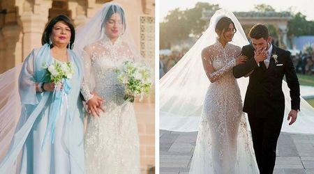 Priyanka Chopra got hidden messages sewn into her wedding outfits just like BFF Meghan Markle