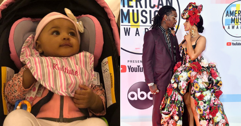 Cardi B gives first look at daughter Kulture post split from husband Offset