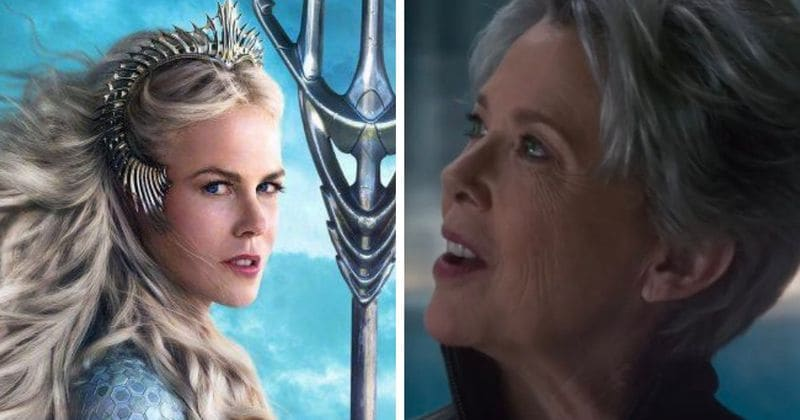 Captain Marvel's Annette Bening, Aquaman's Nicole Kidman cement tradition of hiring A-lister guardians for superheroes