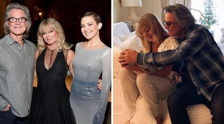 Kate Hudson shares heartwarming photo of Kurt Russell and Goldie Hawn caressing 2-month-old granddaughter Rani