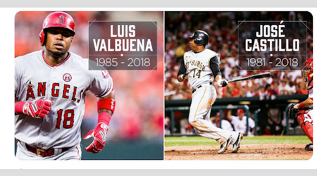 Ex MLB players Luis Valbuena and Jose Castillo killed in an accident after their car struck a rock and veered off road in Venezuela