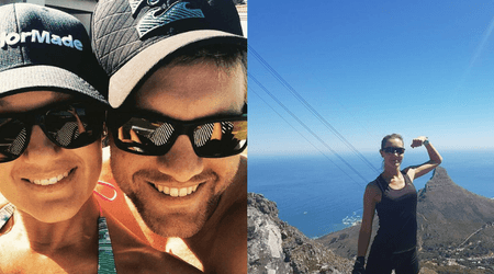 Woman falls 500 ft to her death from cliff while jumping for a 'perfect picture' taken by husband on birthday