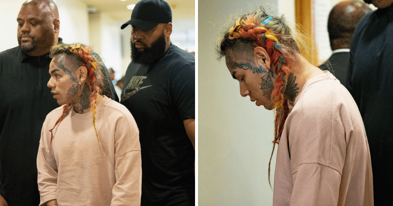 Tekashi 6ix9ine implicates himself in robberies and shootings after cops find evidence in confiscated cell phones and surveillance cameras