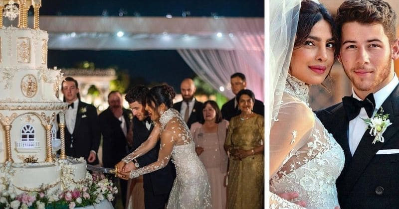 Nick Jonas And Priyanka Chopra S Seven Tier Wedding Cake Was So Huge