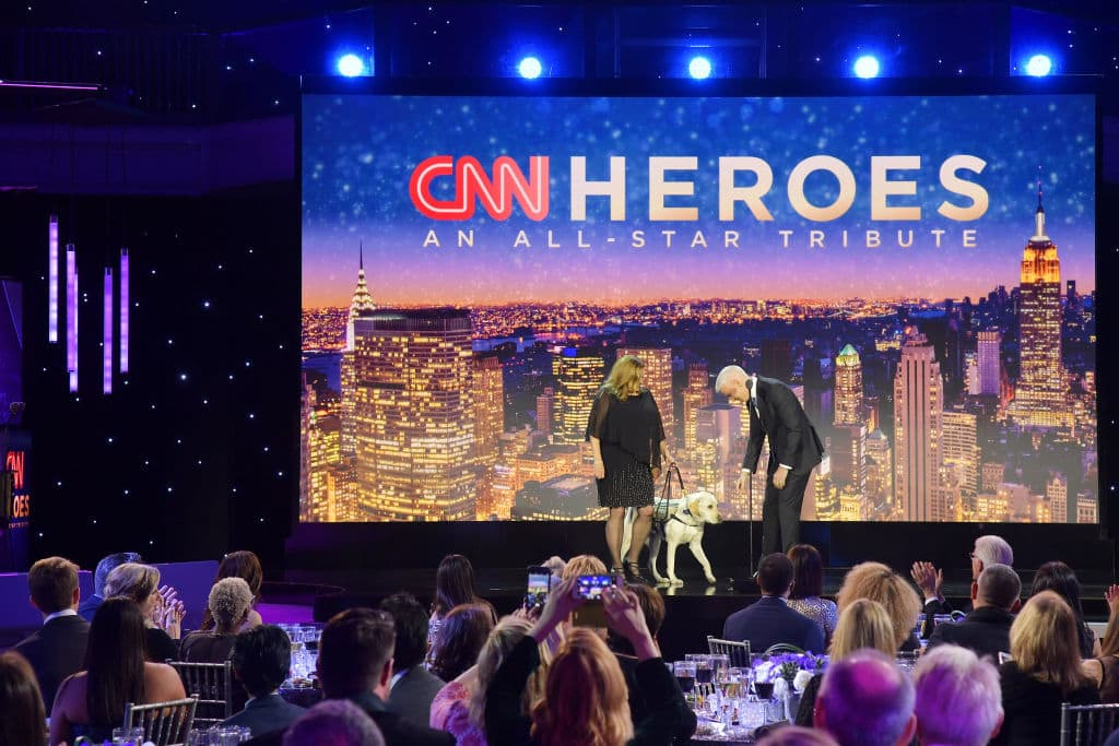 Anderson Cooper speaks onstage during the 12th Annual CNN Heroes: An All-Star Tribute at American Museum of Natural History on December 9, 2018 in New York City. (Photo by Michael Loccisano/Getty Images for CNN )