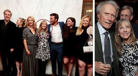 Clint Eastwood's entire family including his 'secret daughter' Laurie pictured for the first time at The Mule premiere