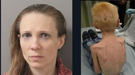 Woman forced 5-year-old stepson to sleep in a closet under the stairs and nearly starved him to death