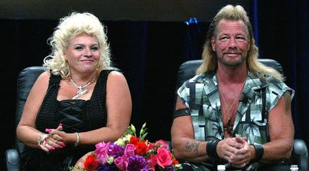 "Dog The Bounty Hunter says he ""cries all the time and prays"" as his wife Beth Chapman's cancer spreads to her lungs"