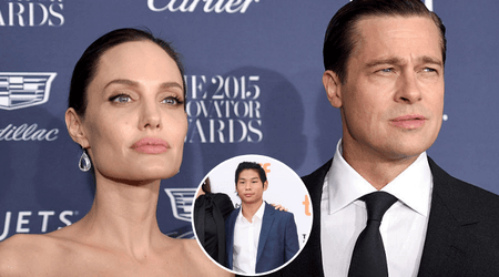 During their nasty divorce, Angelina Jolie reportedly told her son Pax that 'Brad Pitt never wanted to adopt him'