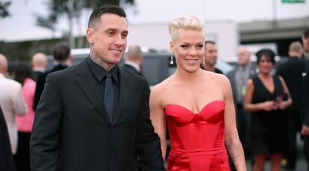 "Pink hits back at fans who attacked husband Carey Hart's parenting style: ""Are you a perfect parent?"""