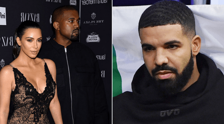 "Kim Kardashian wades into husband Kanye West and Drake's feud: ""Never threaten my husband or our family"""