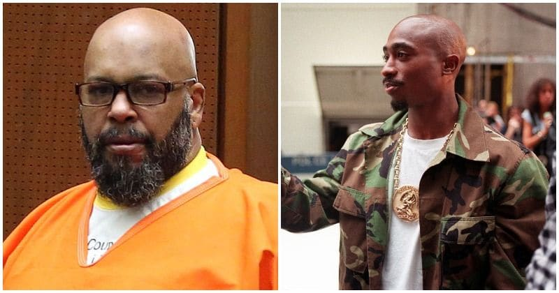 Tupac Shakur talked about faking his own death weeks before he passed away, claims record label executive Suge Knight