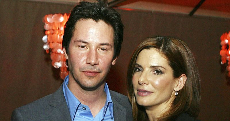 Sandra Bullock reveals she had a major crush on Keanu Reeves