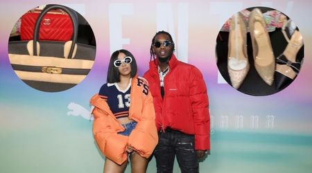 Offset tries to woo Cardi B back by gifting her diamond bracelets, Hermès bags and Louboutin heels for Christmas