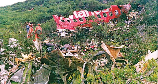 The bombing of Avianca Flight 203 on November 27, 1989 was a culmination of Escobar's ongoing tussle with presidential candidate César Gaviria Trujillo