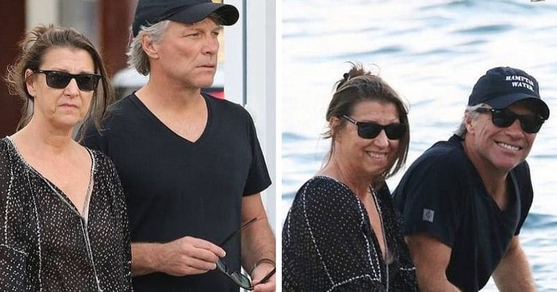 Jon Bon Jovi and wife Dorothea Hurley look all loved up
