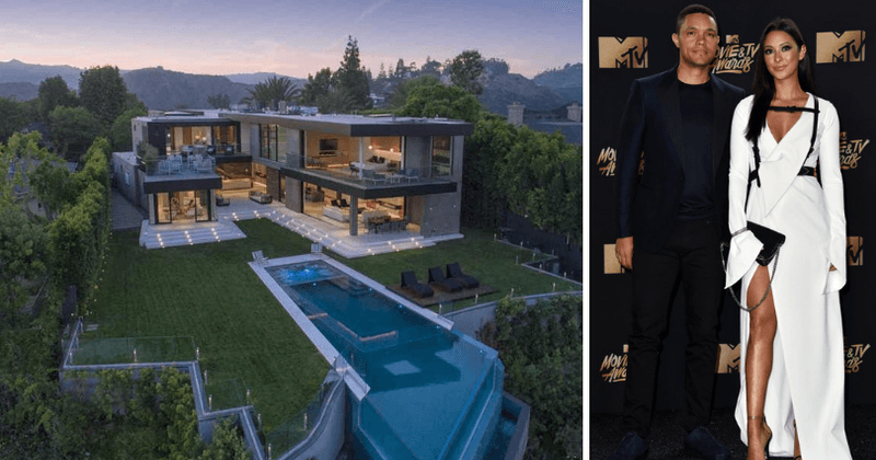 'The Daily Show' host Trevor Noah buys massive $20 million home after split with singer girlfriend Jordyn Taylor