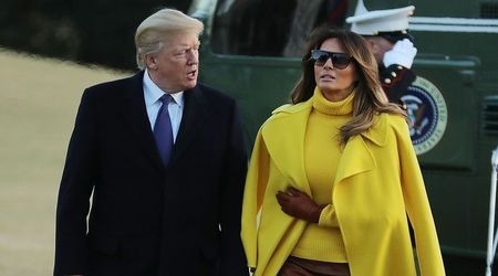 Melania was a struggling model and 'out of money' when she met Donald Trump in 1998, claims new report