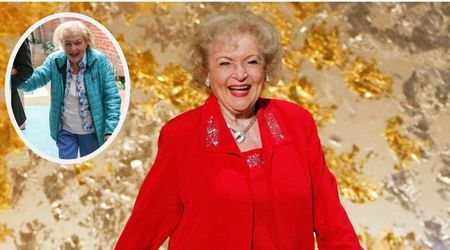 Betty White looks sprightly as ever as she steps out in sunny LA ahead of her 97th birthday