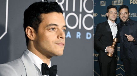Rami Malek has an identical twin who lives a quiet and low-key life as a teacher